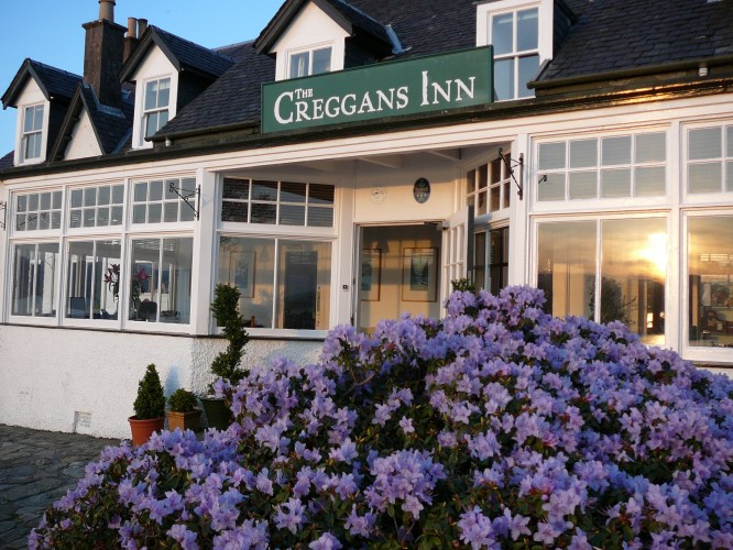 A Weekend Break at The Creggans Inn To Win!
