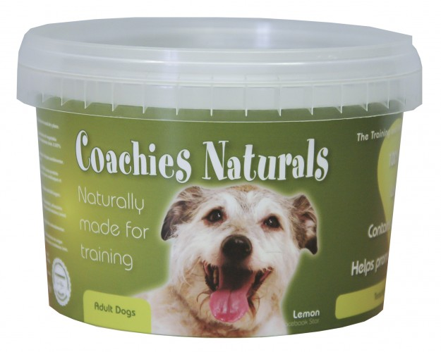 10 Tubs of Coachies Naturals To Giveaway!