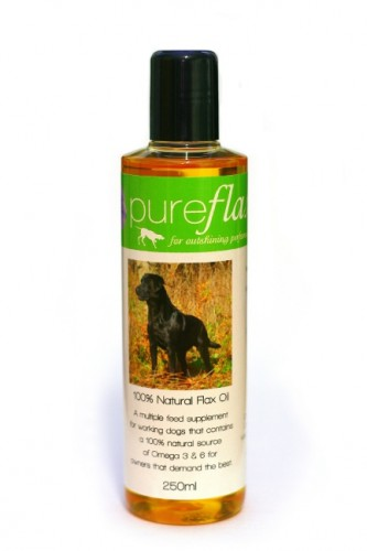 10 Bottles of PureFlax Oil for Dogs To Win!