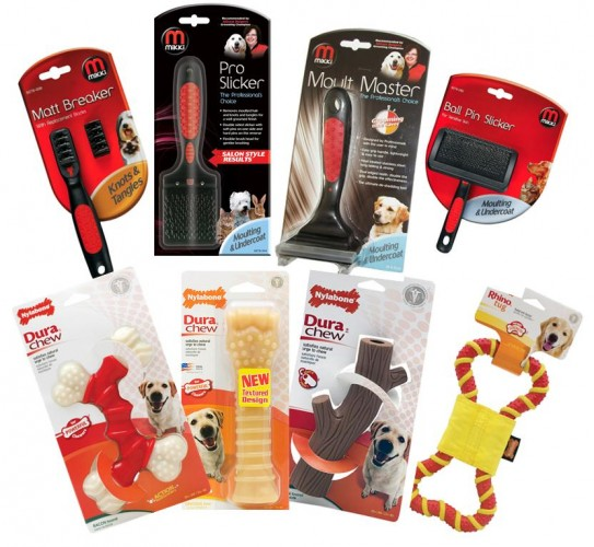 3 Mikki & Nylabone Hampers From Interpet To Win!