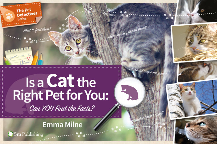 4 Copies of 'Is a Cat the Right Pet for You' To Giveaway!