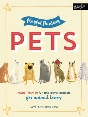 5 Copies of 'Playful Painting: Pets' to Giveaway