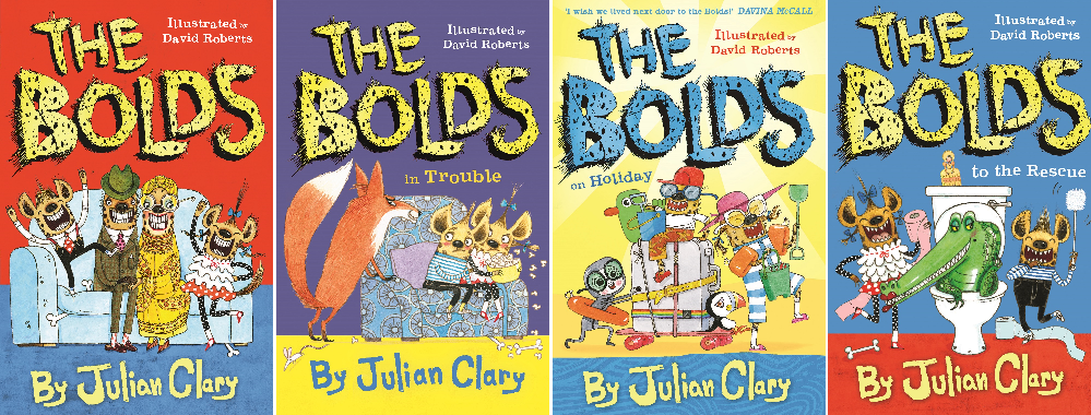 5 Bundles of 'The Bolds' to Giveaway!