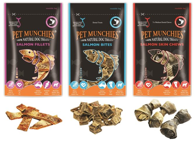 Win Pet Munchies Wild Salmon Treats!