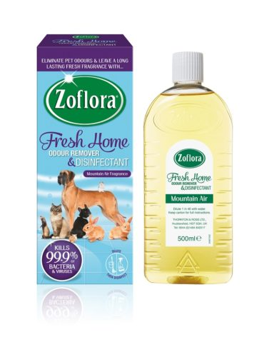 Win a Year's Supply of Zoflora's Pet Friendly Disinfectant, Fresh Home