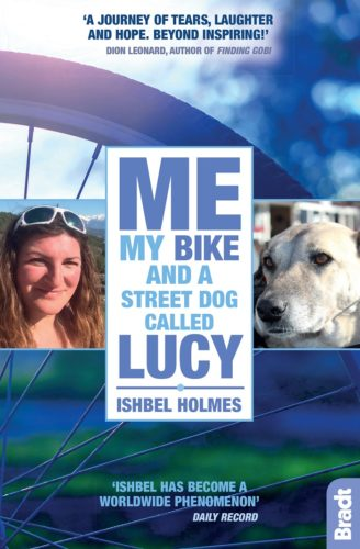 5 Copies of 'Me, My Bike and a Street Dog Called Lucy' to Giveaway!
