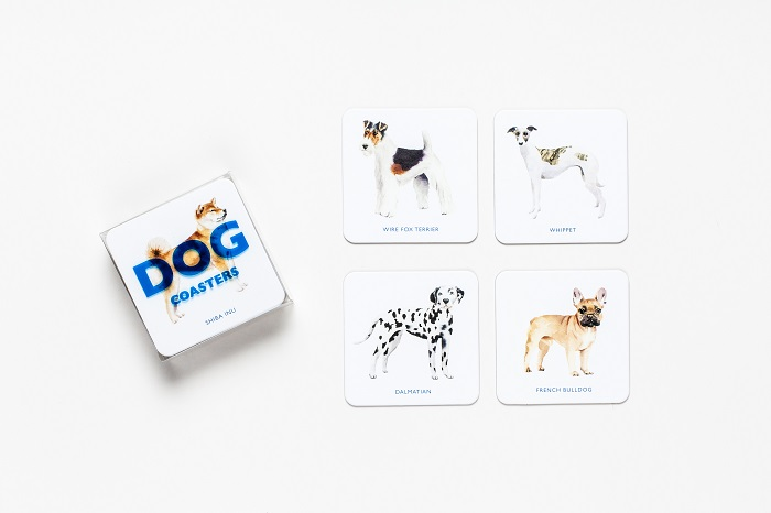Win a Set of Dog Coasters!