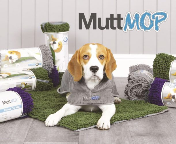 Win a MuttMOP® Dog Drying Robe & Deluxe Drying Towel!