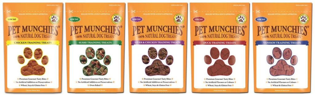 Win a Bundle of Pet Munchies Training Treats!