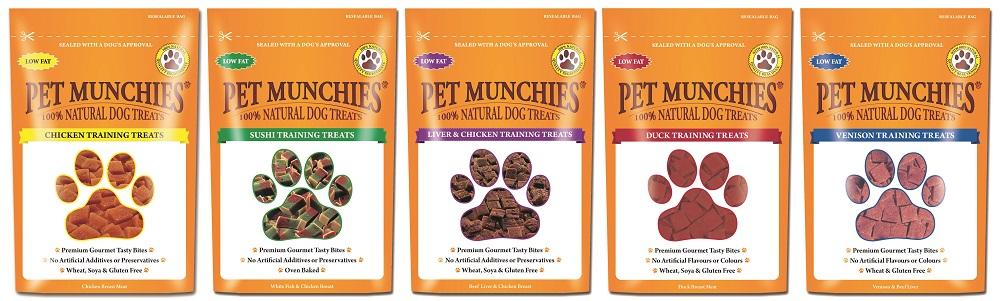 Win a Bundle of Pet Munchies Training Treats!
