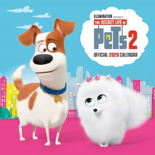5 'The Secret Life of Pets 2' 2020 Calendars to Giveaway!