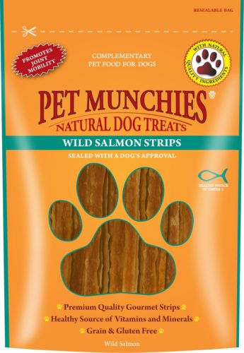 Win Award Winning Pet Munchies Wild Salmon Strips!