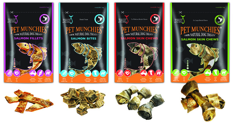 Win Pet Munchies Wild Salmon Skin Treats!
